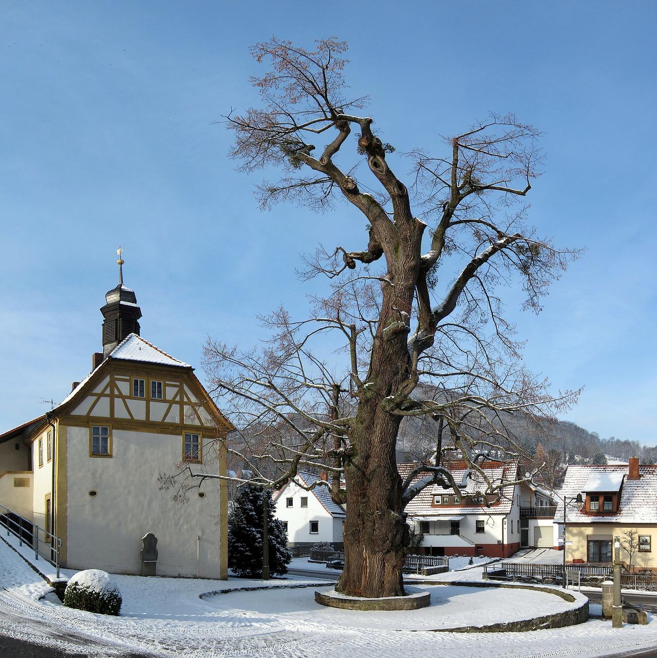 красивая деревня зимой фото 4