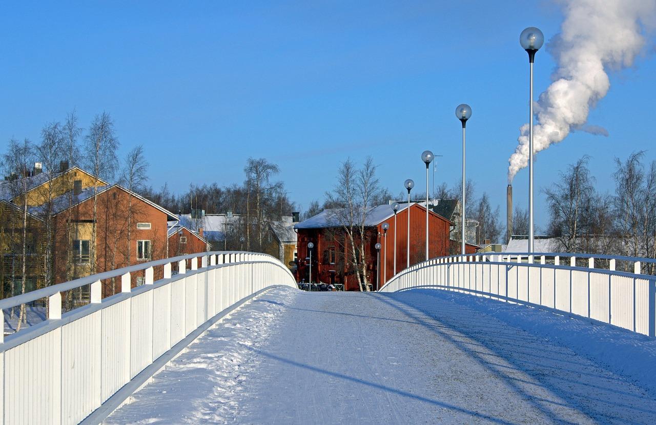 красивая деревня зимой фото 7