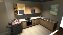 Планировка кухни — размеры и расстояния