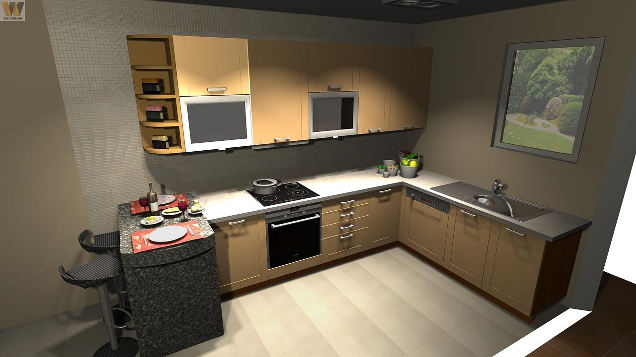планировка кухни 0