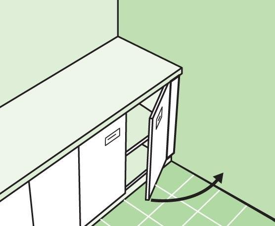 планировка кухни 4