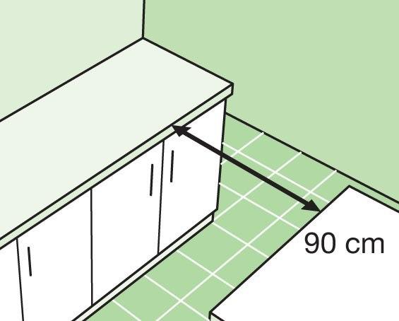 планировка кухни 5