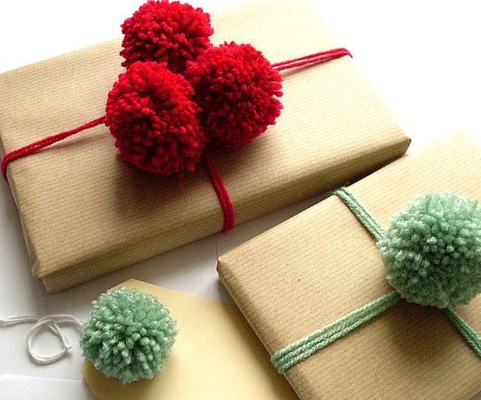 Как упаковать подарок на Новый год своими руками 1