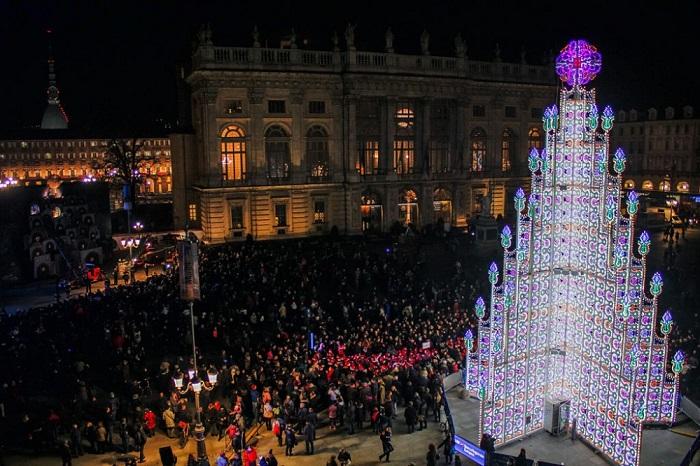 елки в мире турин италия