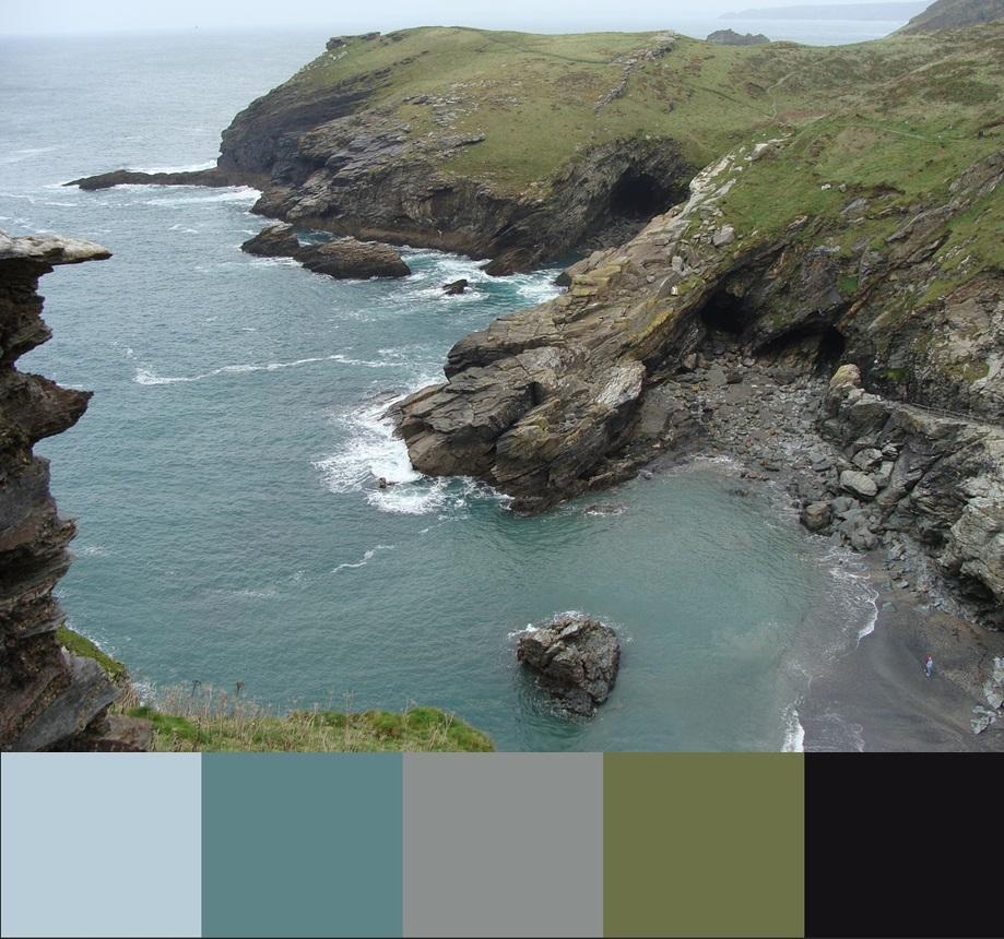 Цвет Limpet shell, палитра сочетания цвета и оттенков