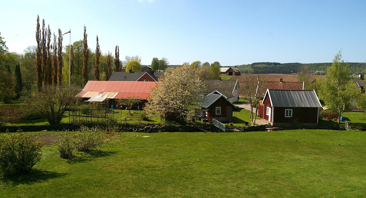 домик в деревне весной фото 10