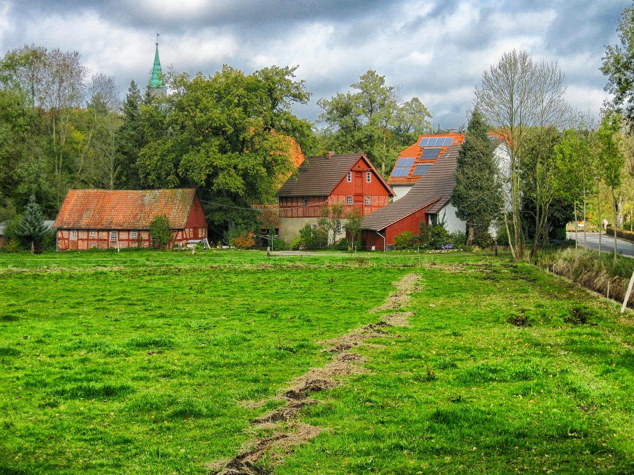 домик в деревне весной фото 11