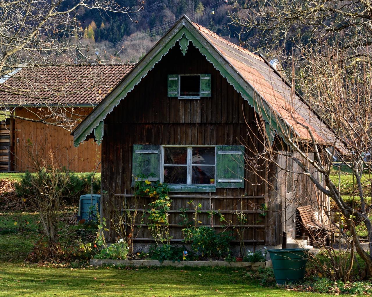 домик в деревне весной фото 15