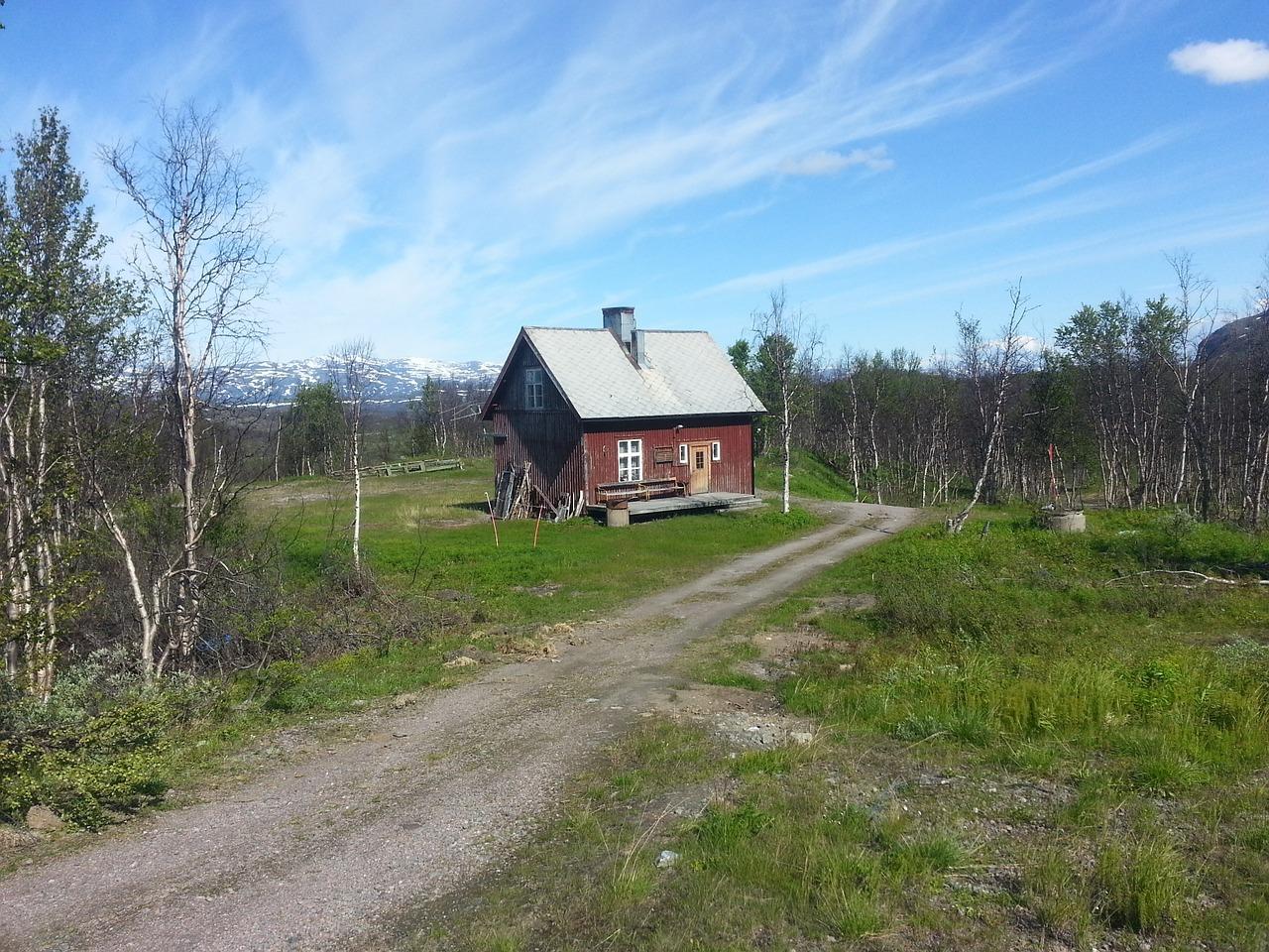 домик в деревне весной фото 21