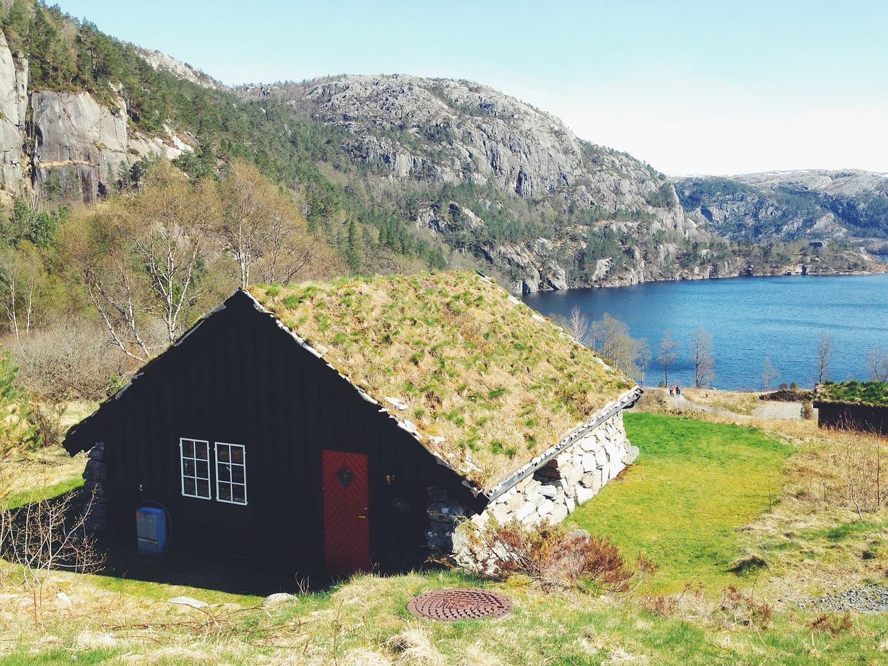 домик в деревне весной фото 24