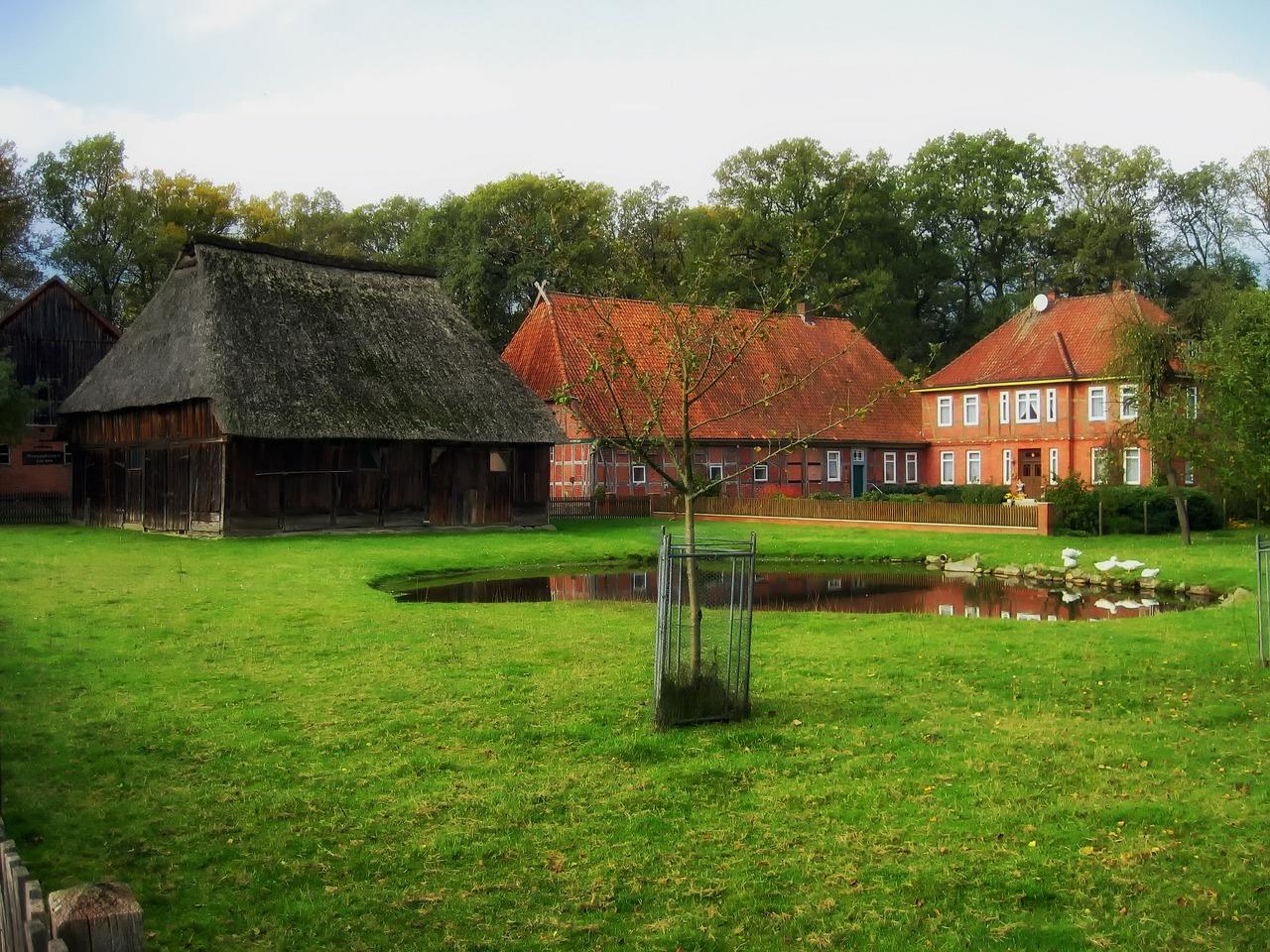 домик в деревне весной фото 7