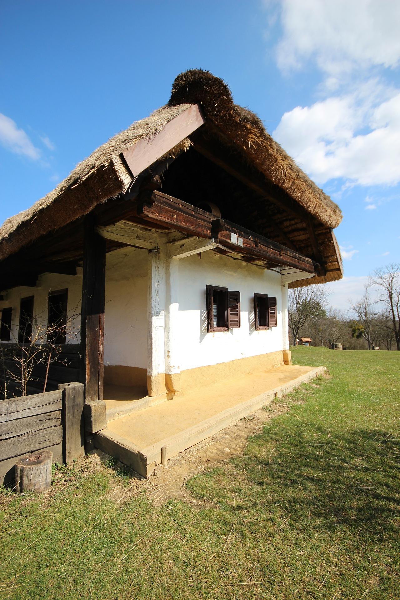 домик в деревне весной фото 8