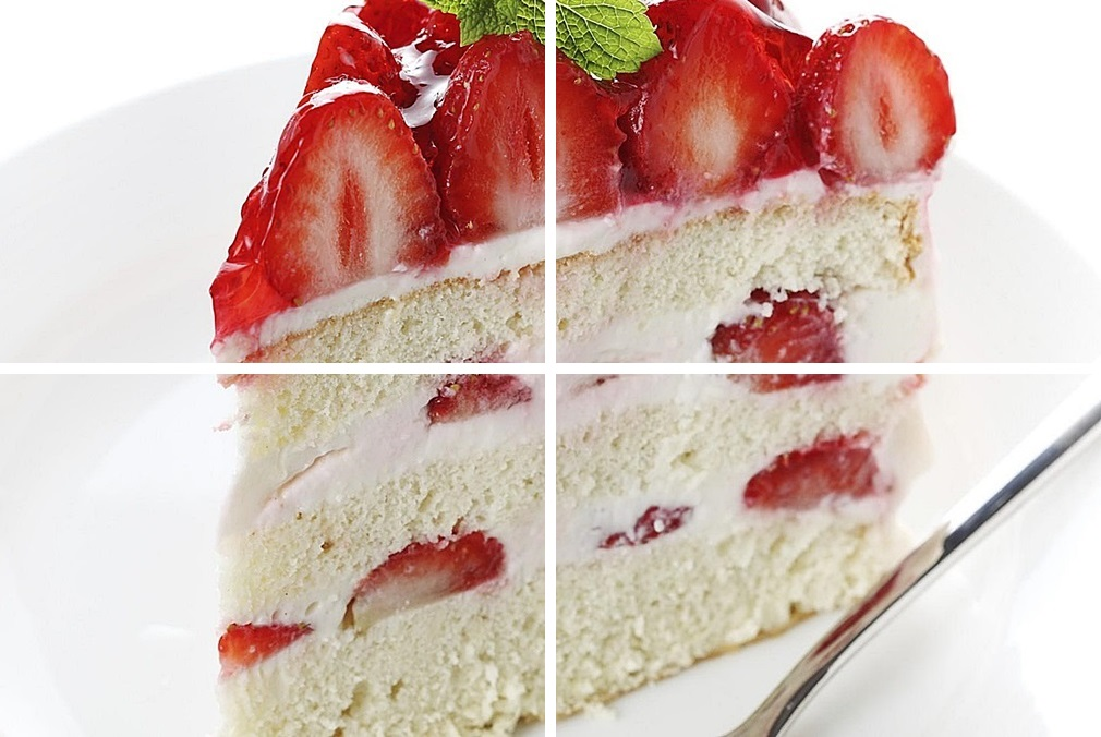 Бисквитное торт с клубникой рецепты с фото