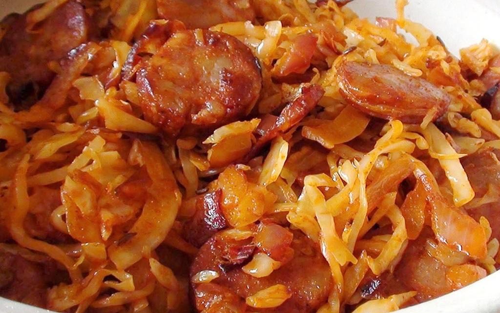 солянка овощная на сковороде