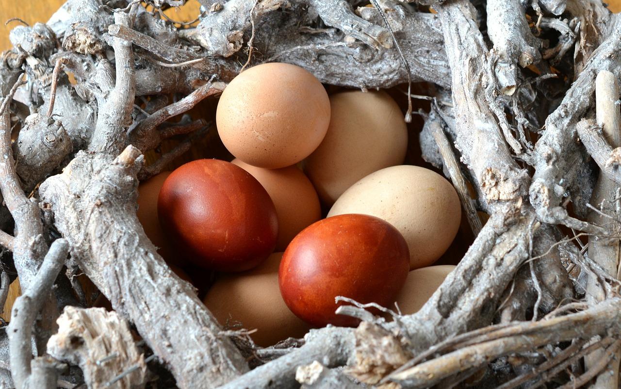яйца на пасху, пасхальные украшения фото 11