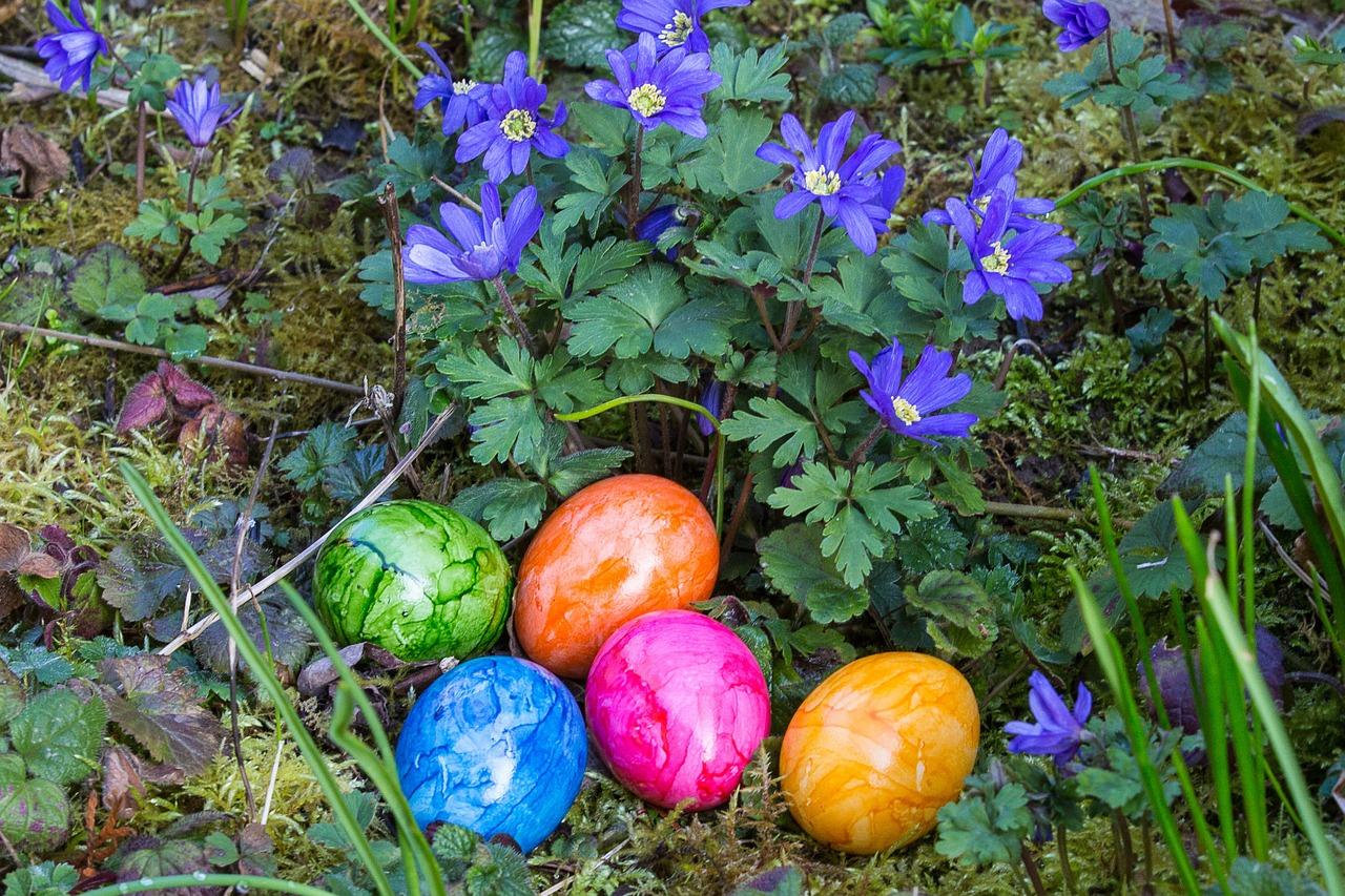 яйца на пасху, пасхальные украшения фото 21