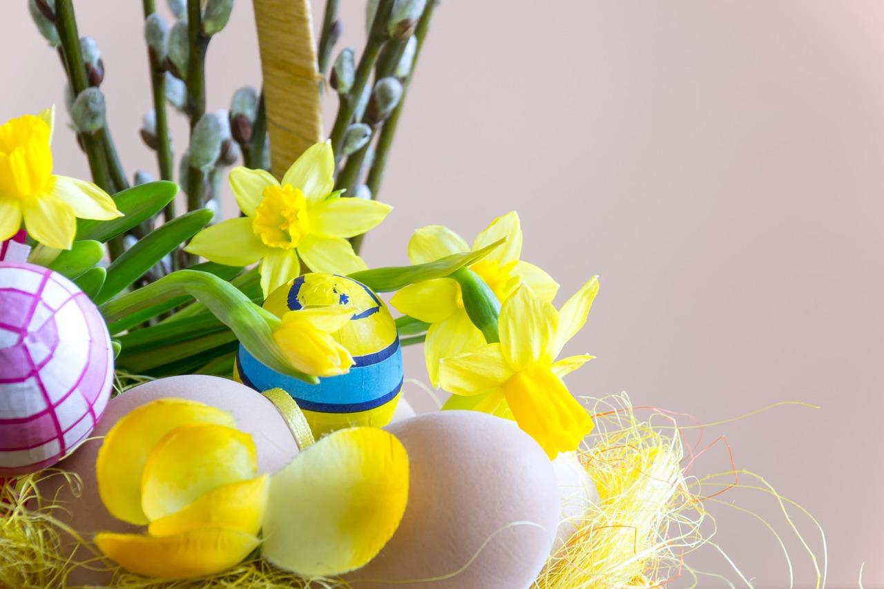 яйца на пасху, пасхальные украшения фото 22