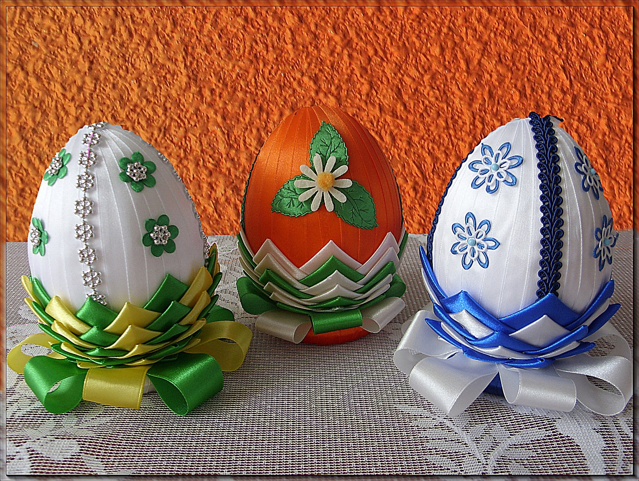 яйца на пасху, пасхальные украшения фото 27
