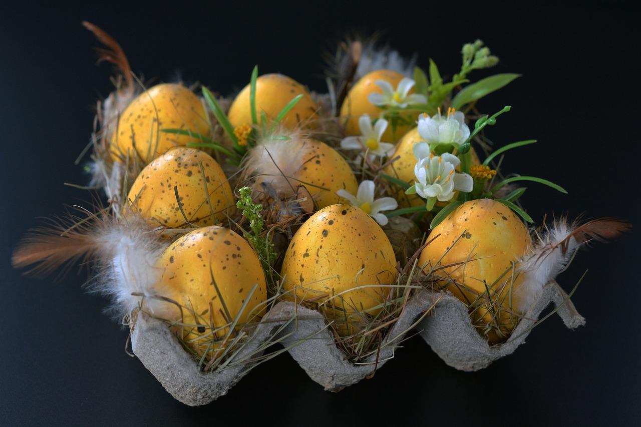 яйца на пасху, пасхальные украшения фото 3