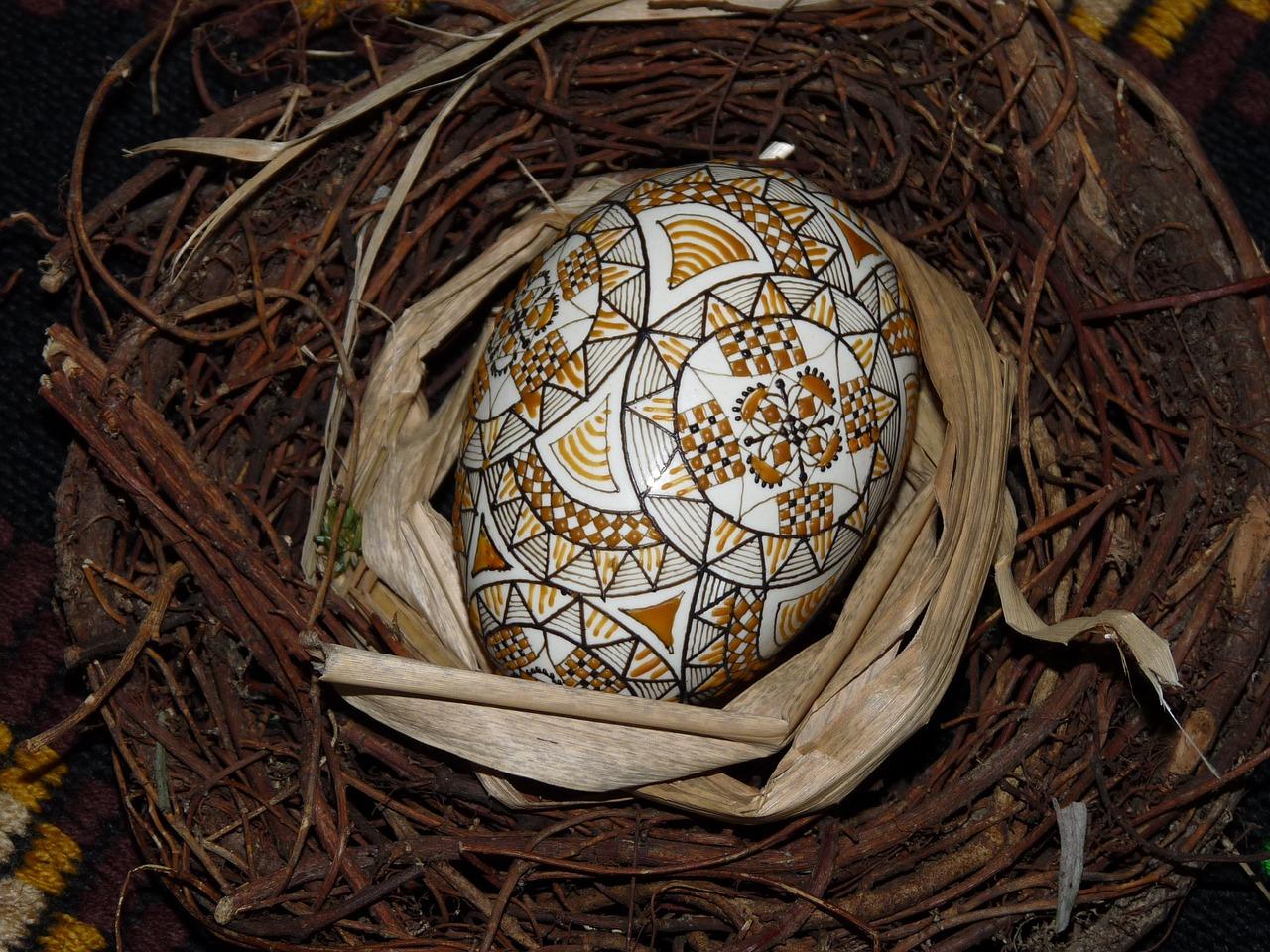 яйца на пасху, пасхальные украшения фото 6