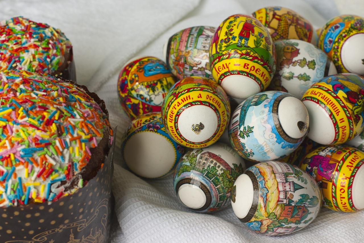 яйца на пасху, пасхальные украшения фото 7