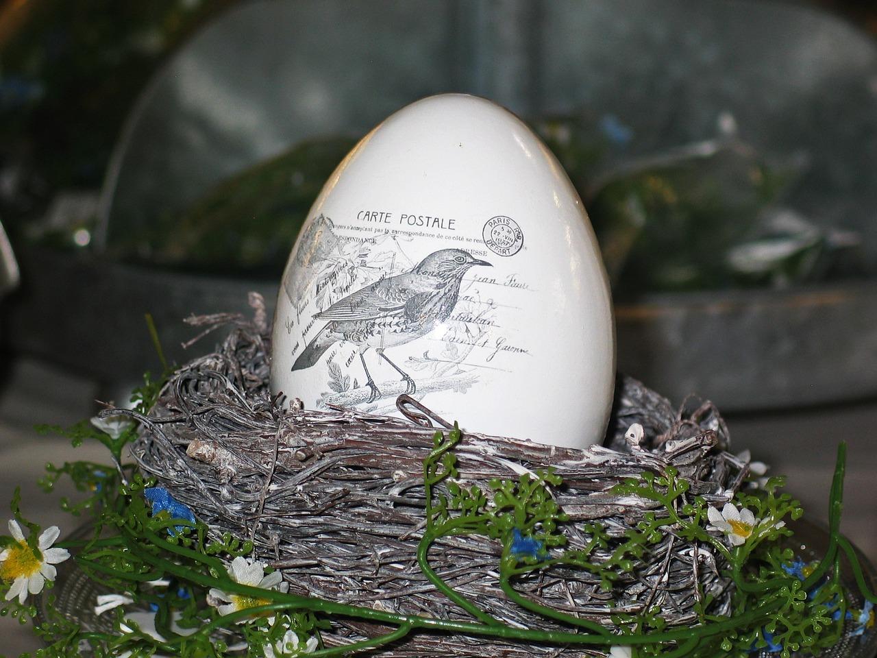 яйца на пасху, пасхальные украшения фото 8