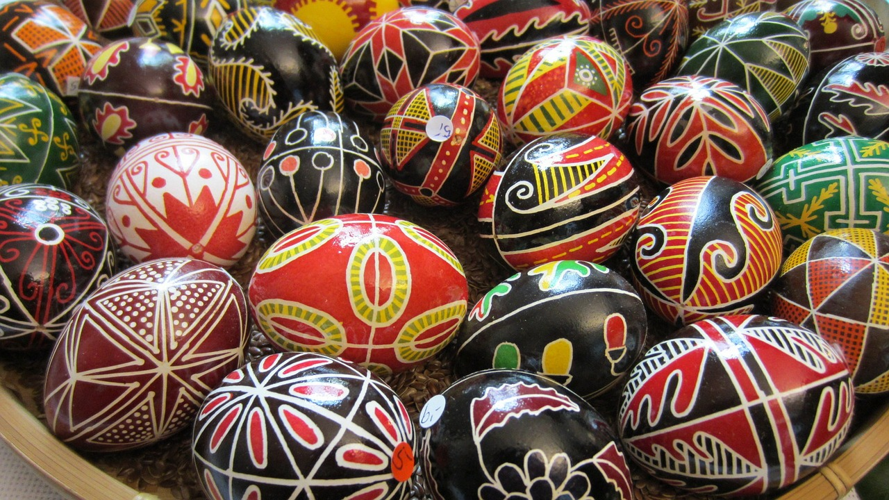 яйца пасхальные фото 24