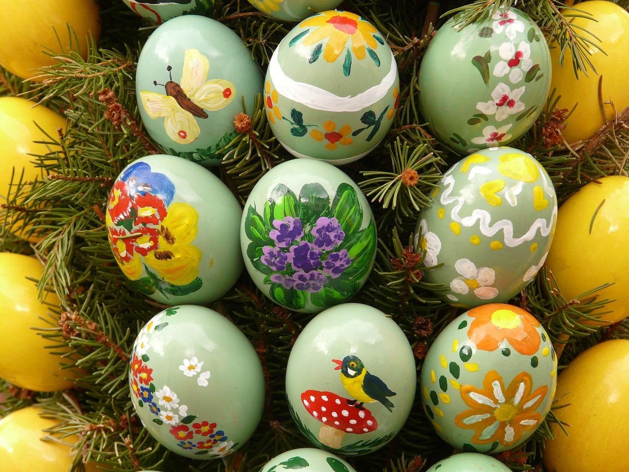 яйца пасхальные фото 36