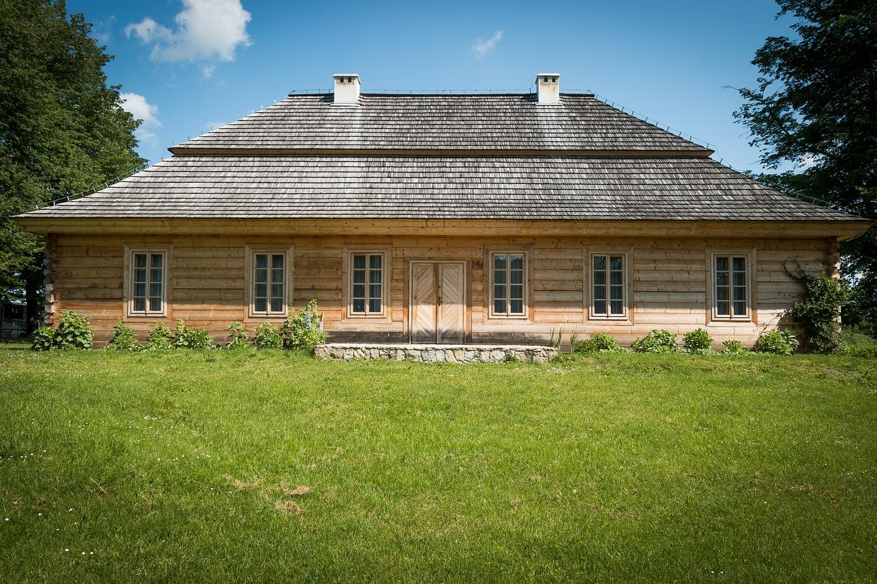 деревянные дома фото 1