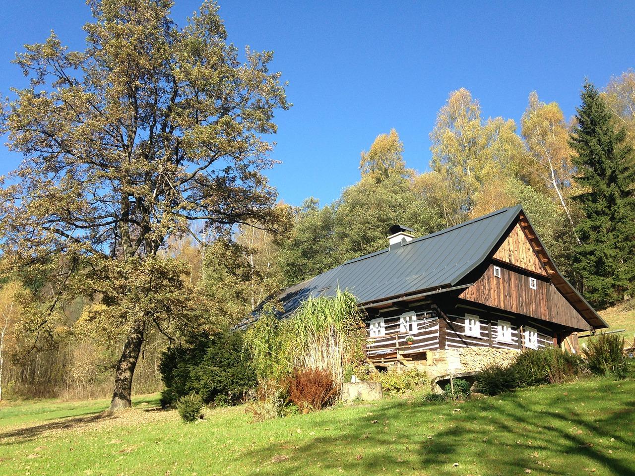 деревянные дома фото 10
