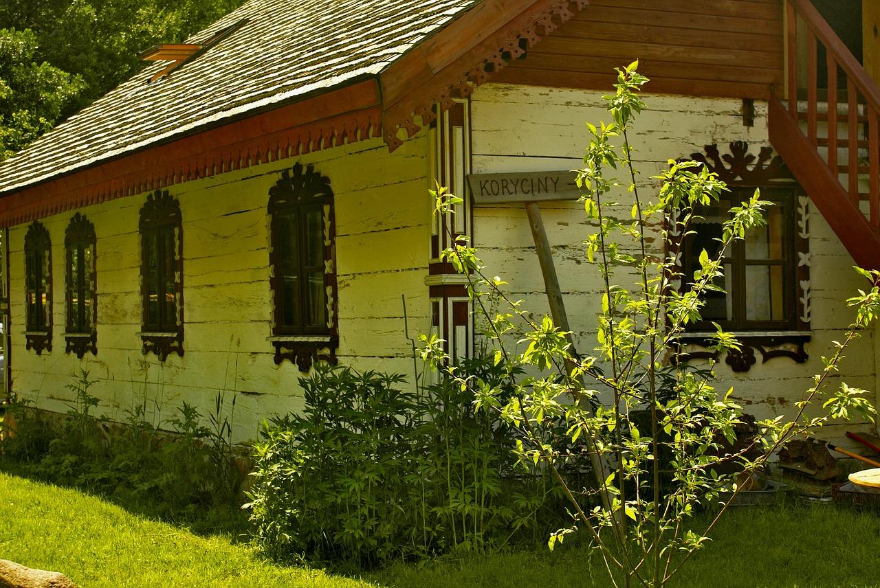 деревянные дома фото 12