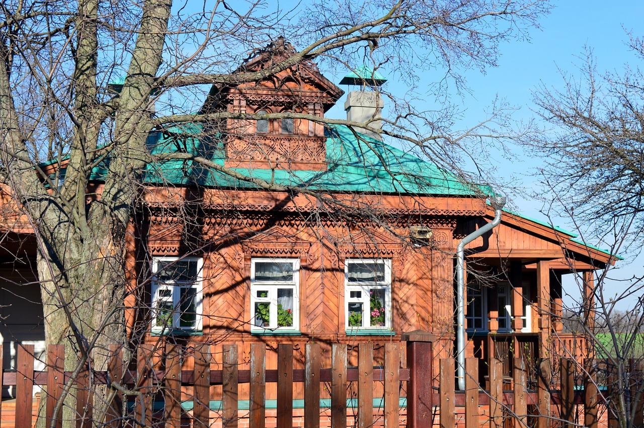 деревянные дома фото 13