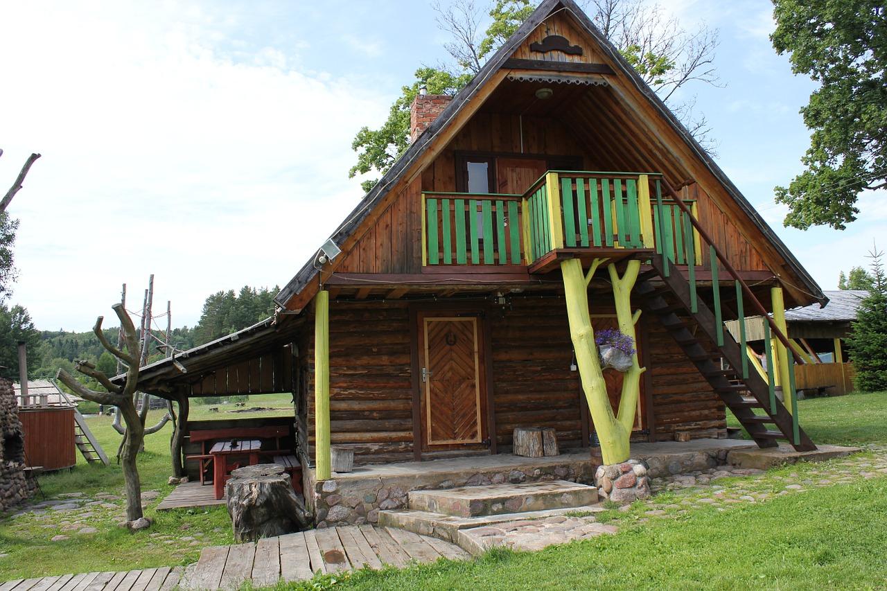 деревянные дома фото 14