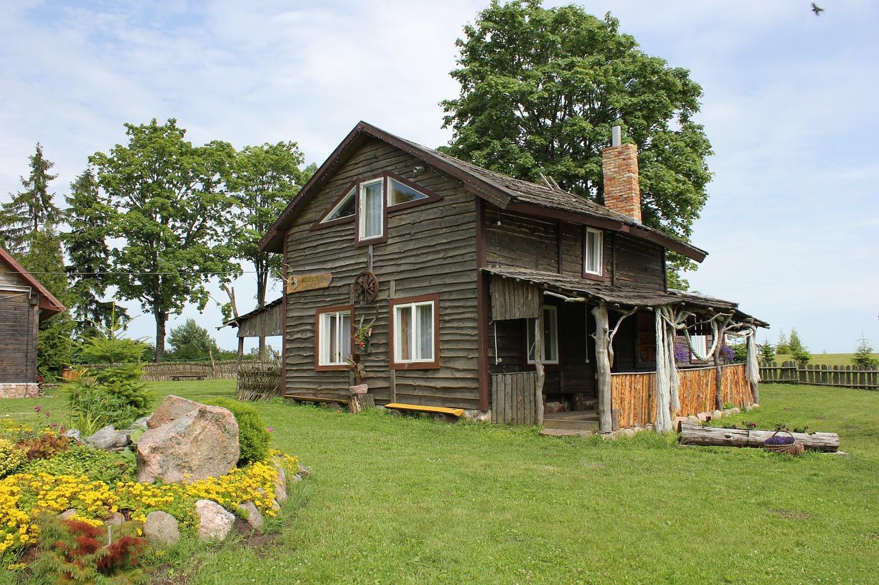 деревянные дома фото 5