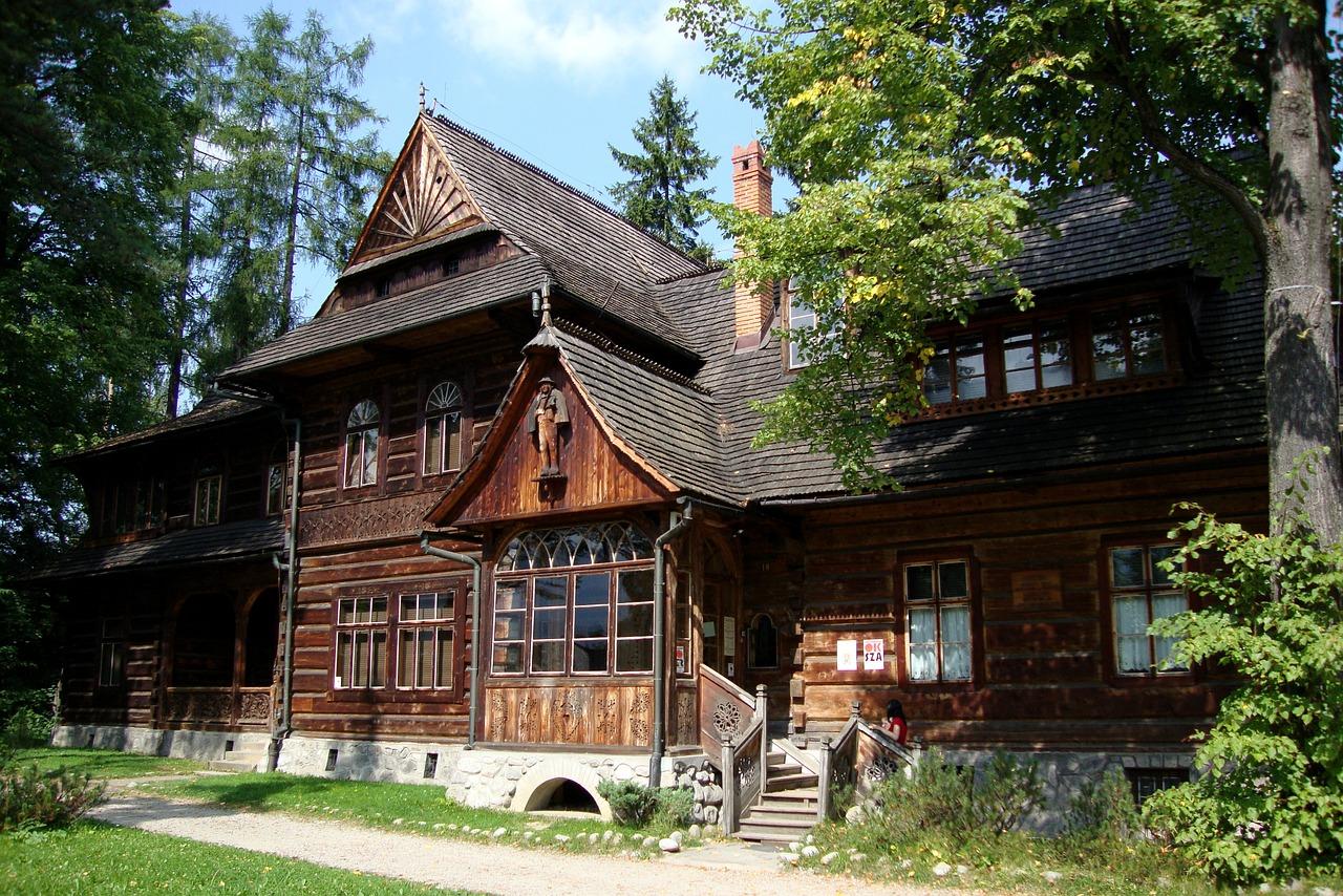 деревянные дома фото 6