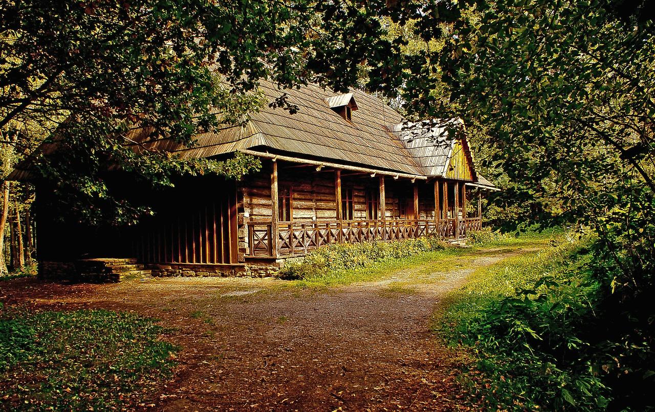 деревянные дома фото 9