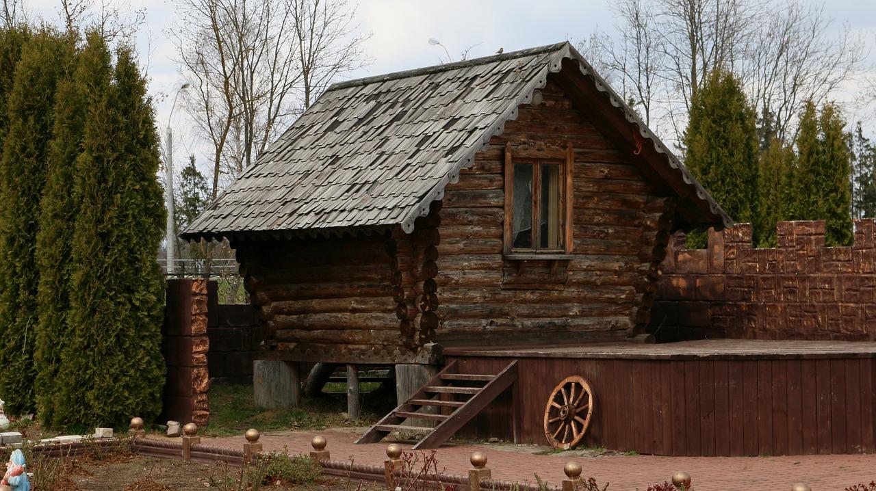 деревянный дом фото 2