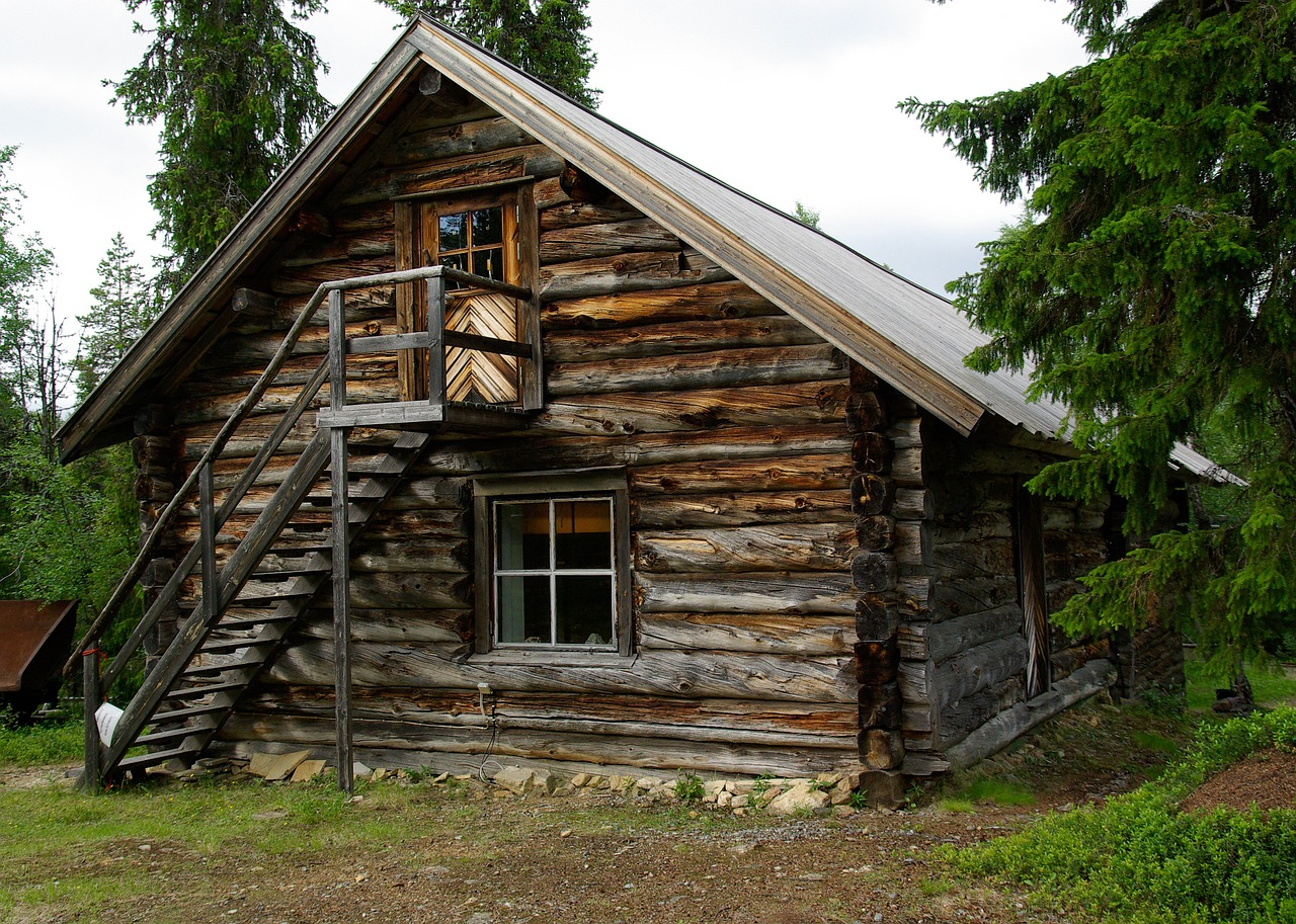 картинки дома деревянные