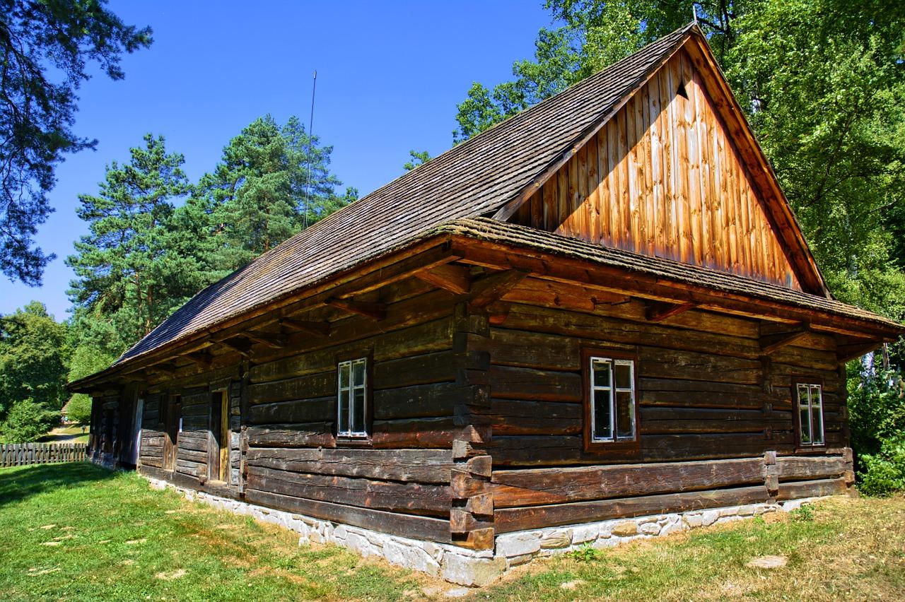 деревянный дом фото 6