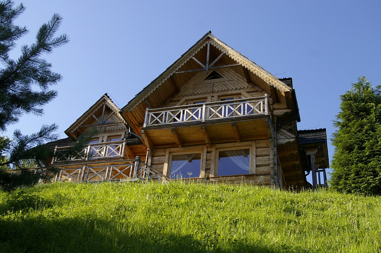 деревянный дом фото 7