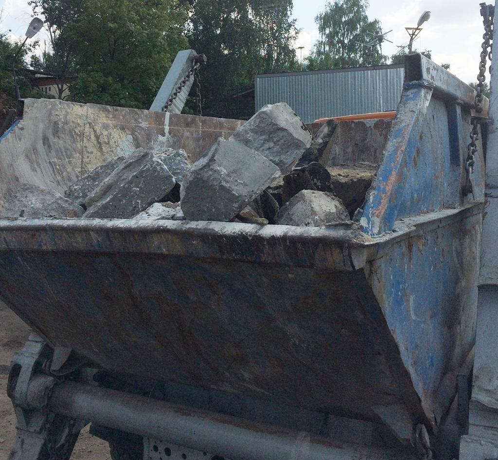 строительный мусор 2