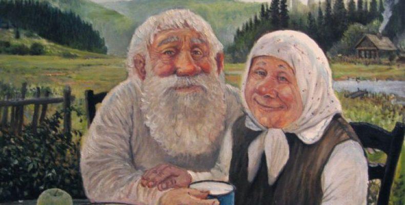 Картины Леонида Баранова — картины русской деревни