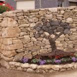 Камни в ландшафтном дизайне сада — фото для вдохновения