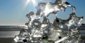Лед в природе — красивые фото