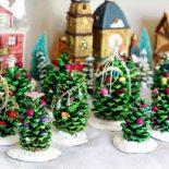 Поделки на Новый год: новогодние украшения, декор, игрушки