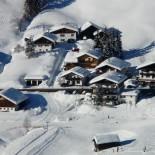 Деревня зимой — красивое фото