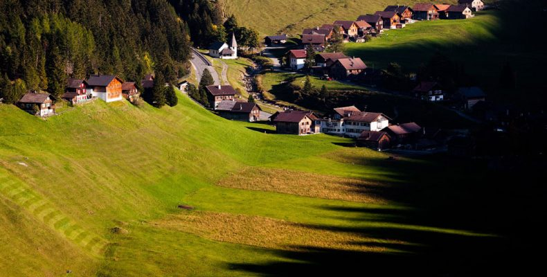 Деревни мира — деревенское величие княжества Лихтенштейн
