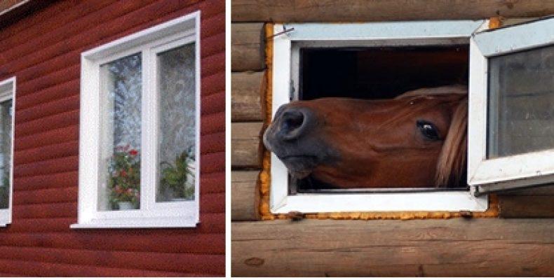 Пластиковые окна — в частный дом