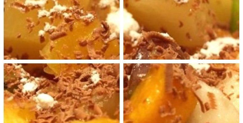 Фруктовый салат — праздничный рецепт