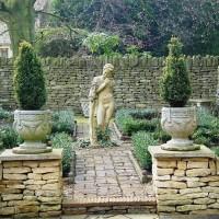 Классический стиль — ландшафтный дизайн сада своими руками